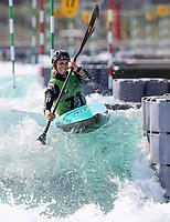 Luuka Jones, NZL. Oceania Canoe Slalom Championships, Whero Whitewater Park, Auckland, New Zealand, 1st February 2020. Photo: Simon Watts/www.bwmedia.co.nz