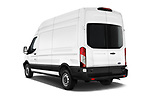 Car pictures of rear three quarter view of 2019 Ford Transit-Van - 4 Door Cargo Van Angular Rear