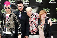 Neon Trees portrait taken at Radio 104.5 Summer Block Party at the Piazza at Shmidt's in Philadelphia, Pa on May 5, 2012 © Star Shooter / MediaPunchInc
