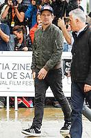 Ethan Hawke arrives to Maria Cristina hotel For the 64th San Sebastian film festival in San Sebastian, Spain, 16 September 2016. # FESTIVAL INTERNATIONAL DU FILM DE SAN SEBASTIAN - JOUR 1
