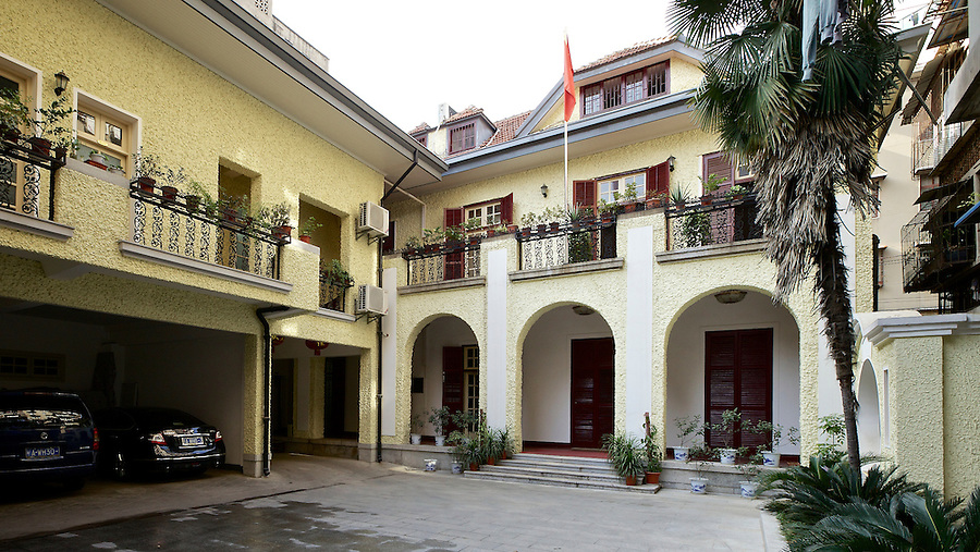 Vice-Consul's Residence With Newer Annex Left, Hankou (Hankow).