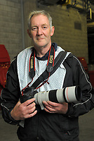 Photographer Mike Moran at the Mitre 10 Cup rugby match between Wellington Lions and Northland Taniwha at Westpac Stadium in Wellington, New Zealand on Thursday, 12 October 2017. Photo: Dave Lintott / lintottphoto.co.nz
