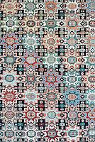 Oriental rug detail.