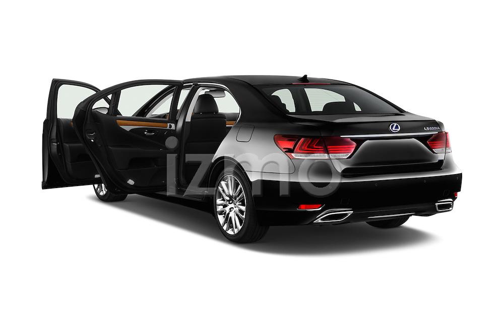 Car images of 2016 Lexus LS 600h L 4 Door Sedan Doors