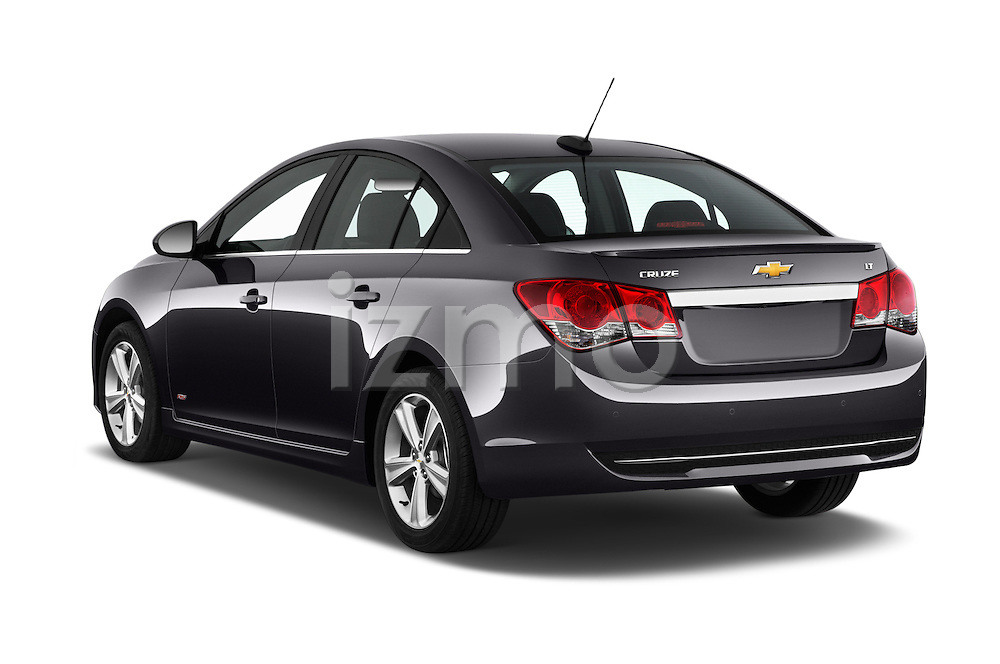 Car pictures of rear three quarter view of 2016 Chevrolet Cruze-Limited 2LT-Auto 4 Door Sedan Angular Rear