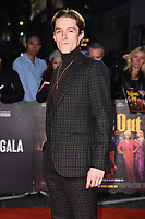 """LONDON, UK. October 08, 2019: Jacob Collins Levy arriving for the """"Knives Out"""" screening as part of the London Film Festival 2019 at the Odeon Leicester Square, London.<br /> Picture: Steve Vas/Featureflash"""