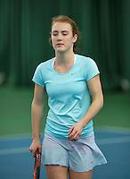 Rotterdam, The Netherlands, March 11, 2016,  TV Victoria, , NOJK 12/16 years, Chanel Janssen<br /> Photo: Tennisimages/Henk Koster