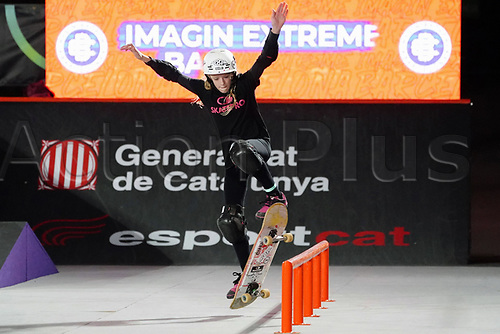 6th November 2020; Parc del Forum, Barcelona, Catalonia, Spain; Imagin Extreme Barcelona;  Daniela Terol (ESP)  women street final