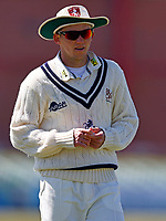 Matt Milnes in the field for Kent during Kent CCC vs Lancashire CCC, LV Insurance County Championship Group 3 Cricket at The Spitfire Ground on 23rd April 2021