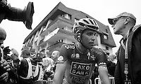 again not the Alberto Contador (ESP) he himself was hoping for<br /> <br /> Tour de France 2013<br /> stage 18: GAP to ALPE-D'HUEZ 172,5k