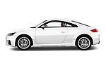 Car Driver side profile view of a 2016 Audi TTS - 2 Door coupe Side View