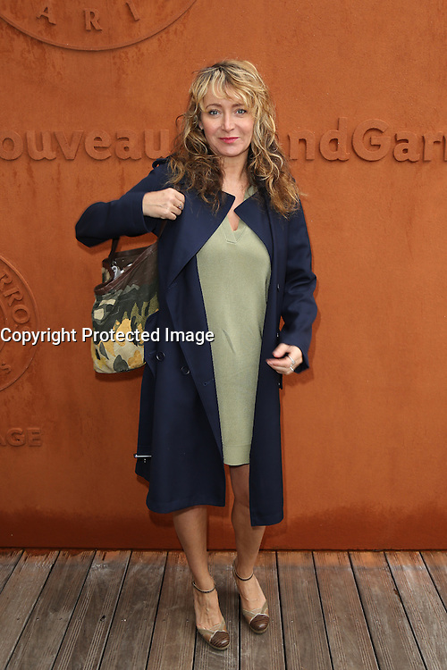 Julie Ferrier seen at 'Le Village de Roland Garros' during Roland Garros tennis open 2016 in Paris on June 02 2016.