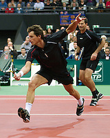 2011-02-07, Tennis, Rotterdam, ABNAMROWTT,  Paul Haarhuis, Jacco Eltingh