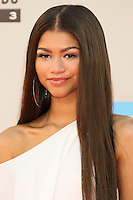 LOS ANGELES, CA - NOVEMBER 24: Zendaya Coleman arriving at the 2013 American Music Awards held at Nokia Theatre L.A. Live on November 24, 2013 in Los Angeles, California. (Photo by Celebrity Monitor)