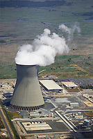 aerial photograph of the Hope Creek nuclear power plant .PSEG Nuclear LLC, Lower Alloways,  New Jersey