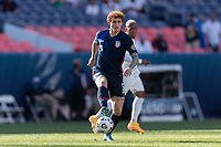 DENVER, CO - JUNE 3: Josh Sargent #9 of the United States during a game between Honduras and USMNT at EMPOWER FIELD AT MILE HIGH on June 3, 2021 in Denver, Colorado.