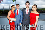 Kyle Farrell (Killarney), Jack Fitzgerald (Killarney), Laura Lehane (Killarney) and Gosia Szaba ttending the Killarney Community College, St. Brendan's and St. Bridget's School debs in the Ballyroe Heights Hotel on Monday night.
