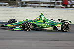 Ed Carpenter Racing driver Spencer Pigot (21) of United States in action during the DXC Technology 600 race at Texas Motor Speedway in Fort Worth,Texas.