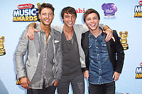 LOS ANGELES, CA, USA - APRIL 26: Emblem3 at the 2014 Radio Disney Music Awards held at Nokia Theatre L.A. Live on April 26, 2014 in Los Angeles, California, United States. (Photo by Xavier Collin/Celebrity Monitor)