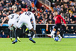 Jesse Lingard of Manchester United (R) looks to bring the ball down during the UEFA Champions League 2018-19 match between Valencia CF and Manchester United at Estadio de Mestalla on December 12 2018 in Valencia, Spain. Photo by Maria Jose Segovia Carmona / Power Sport Images