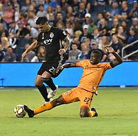 Kansas City, Kansas - Saturday, August 31, 2019:  Sporting Kansas City defeated Houston Dynamo 1-0 during their Major League Soccer (MLS) match at Children's Mercy Park.