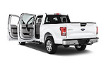 Car images close up view of a 2015 Ford F 150 Xlt 4X2 Ecoboost 5 Door Trucks doors