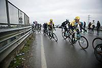 Tom Leezer (NLD/LottoNL-Jumbo) & Bram Tankink (NLD/LottoNL-Jumbo)<br /> <br /> 106th Milano - San Remo 2015
