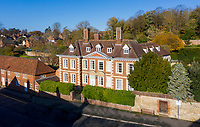 BNPS.co.uk (01202) 558833. <br /> Pic: KnightFrank/BNPS<br /> <br /> A historic home where everyone from Catherine of Aragon to Thomas Jefferson has stayed is on the market for £4m.<br /> <br /> The aptly-named Castle House has hosted numerous royal visitors and historical events in its 650-year history.<br /> <br /> The Grade I listed building was visited by King Henry VII in 1494 and was also the place where Catherine of Aragon, Henry VIII's first wife, directed her forces in the Battle of Flodden while Henry was away in France.