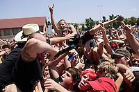 fans. Dropkick Murphys, Vans Warped Tour, Fairgrounds; 7.16.2005<br />