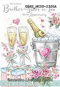 John, WEDDING, HOCHZEIT, BODA, paintings+++++,GBHSMC50-1320A,#W#, EVERYDAY