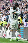 "Real Madrid's Lucas Vazquez and Francisco Roman ""Isco"" during La Liga match between Real Madrid and Deportivo Alaves at Stadium Santiago Bernabeu in Madrid, Spain. April 02, 2017. (ALTERPHOTOS/BorjaB.Hojas)"