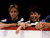 Louise Forestier a la LNI<br /> , 6 DEC 1985