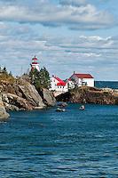 Head Harbour Light, Campobello Island, New Brunswick, Canada