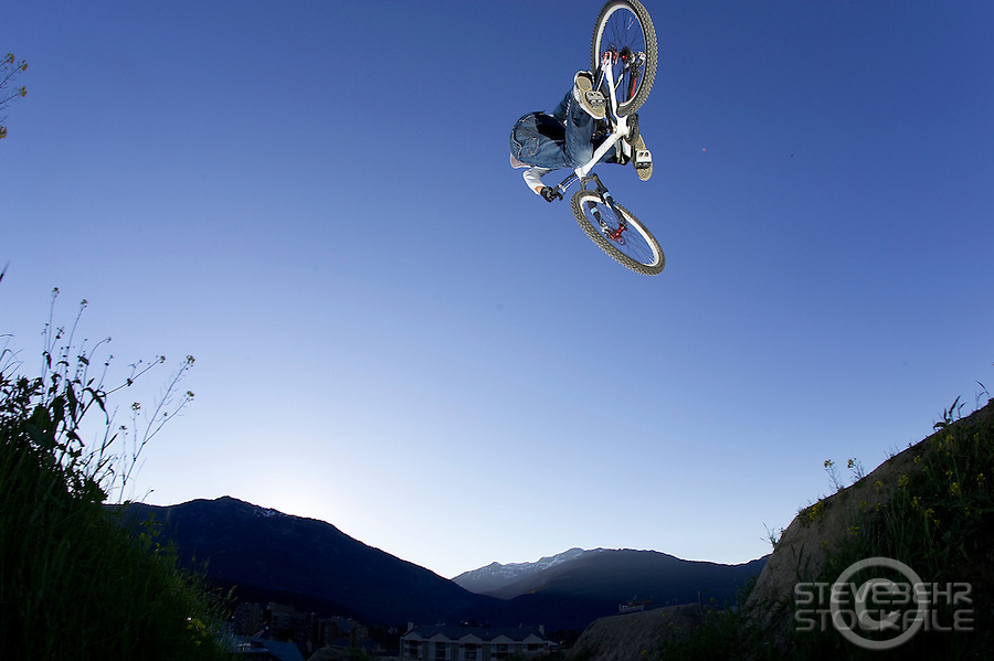 Marc Beaumont..Whistler , Canada   July 2007..pic copyright Steve Behr / Stockfile
