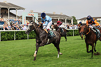 9th September 2021; Doncaster Racecourse, Doncaster, South Yorkshire, England;   St Leger Ladies Day; Harrow ridden by Oisin Murphy wins the 14:10 Weatherbys Scientific 200,000 2-Y-O Stakes Doncaster Racecourse
