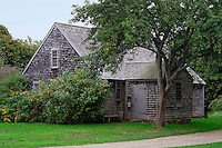 The Vincent House Museum, Edgartown, Martha's Vineyard, Massachusetts, USA