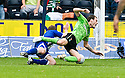 19/09/2010   Copyright  Pic : James Stewart.sct_jsp021_kilmarnock_v_celtic  .:: ANTHONY STOKES IS BROUGHT DOWN FOR CELTIC'S PENALTY ::.James Stewart Photography 19 Carronlea Drive, Falkirk. FK2 8DN      Vat Reg No. 607 6932 25.Telephone      : +44 (0)1324 570291 .Mobile              : +44 (0)7721 416997.E-mail  :  jim@jspa.co.uk.If you require further information then contact Jim Stewart on any of the numbers above.........