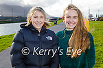 Enjoying a stroll in Blennerville on Tuesday, l to r: Jenny Slattery and Grace McLoughlin.
