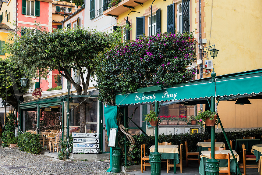 Restorante Puny in the charming town of Portofino.