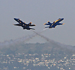 Blue Angel during Fleet Week in San Francisco, CA.