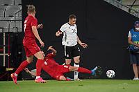 Christian Guenter (Deutschland Germany) wird vom Ball getrennt - Innsbruck 02.06.2021: Deutschland vs. Daenemark, Tivoli Stadion Innsbruck