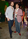 MIAMI GARDENS, FL - JUNE 06: Antonio Misuraca (R) attends Floyd Mayweather vs Logan Paul pre-fight VIP party at Hardrock stadium North Sildeline Club on June 6, 2021 in Miami Gardens, Florida.  ( Photo by Johnny Louis / jlnphotography.com )