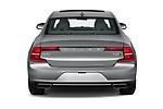 Straight rear view of a 2019 Volvo S90 T6 Inscription 4 Door Sedan stock images