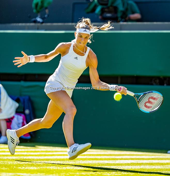 London, England, 2 th July, 2018, Tennis,  Wimbledon,   Arantxa Rus  (NED)<br /> Photo: Henk Koster/tennisimages.com