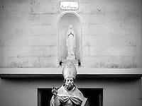 Processione a seguito del restauri della Statua di Sant'Oronzo conservata all'interno della Chiesa Madre - Botrugno - 12 agosto 2015