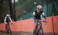 Caroline Mani (FRA) in 2nd<br /> <br /> Elite Women's race<br /> UCI 2016 cyclocross World Championships