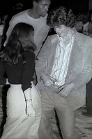 1977 FILE PHOTO<br /> New York City<br /> John F. Kennedy Jr. at Studio 54<br /> Photo by Adam Scull-PHOTOlink.net