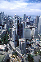 Business district, Central in Hong Kong.