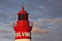 Europe/France/Bretagne/29/Finistère/ Le Guilvinec: Le Phare à l'entrée du Port de pêche