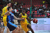 Sao Jose dos Pinhais - PR, 21/02/2020 - Brasil x Uruguai - Basketball- American Cup - Basketball jogo de eliminatorias entre Brasil x Uruguai no ginasio Max Rosemann nessa sexta-feira (21). (Foto: Ernani Ogata/Codigo 19/Codigo 19)